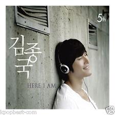 KIM JONG KOOK - Here I Am (5th Album) (CD+Gift Photo) Running Man Korea SBS kpop