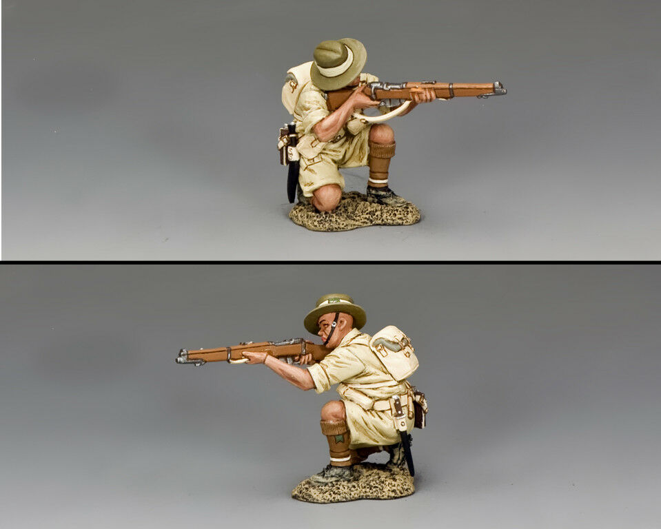 KING AND COUNTRY Gurkha Kneeling Firing Rifle WW2 FOB147