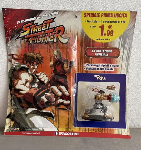 Action Figure Street Fighter Personaggi da Collezione n 1 Ryu De Agostini