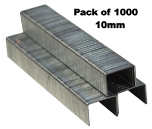 1000pc-10-mm-Agrafes-Agrafeuse-Pack-de-1000-Garnitures-B3751