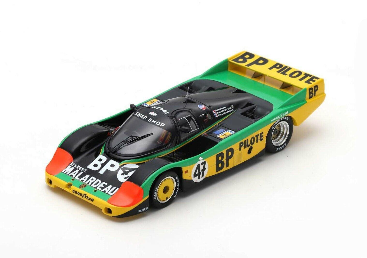 SPARK PORSCHE 956   47 Le Mans 1983 P. Henn - J-L. Schlesser  S7503 1 43  pour pas cher