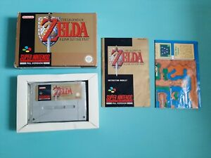 Super Nintendo (SNES) Game: THE LEGEND OF ZELDA A LINK TO THE PAST (Boxed)
