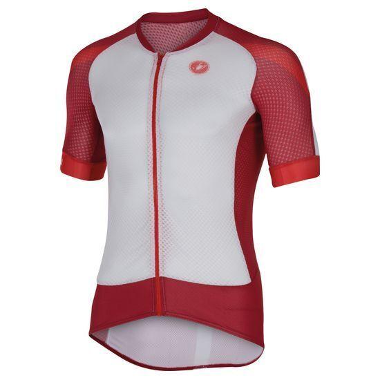 Dimensione L Castelli Climber's 2.0 Full Zipp Short Sleeve Cycling Jersey