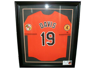 Details About Baseball Card Outlet Custom Jersey Frame Display Case Baltimore Orioles Vertical