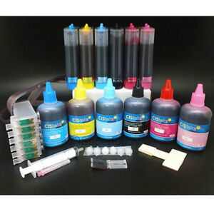Continuous-Ink-System-and-Refill-Ink-Set-for-Epson-Artisan-710-725-730-800-CISS