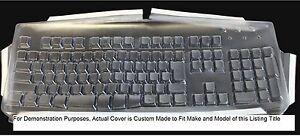 Custom Made Keyboard Cover for Microsoft Sidewinder X6-390G103 Keyboard Not Inc