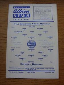 08101960 West Bromwich Albion Reserves v Barnsley Reserves  4 Pages - Birmingham, United Kingdom - 08101960 West Bromwich Albion Reserves v Barnsley Reserves  4 Pages - Birmingham, United Kingdom