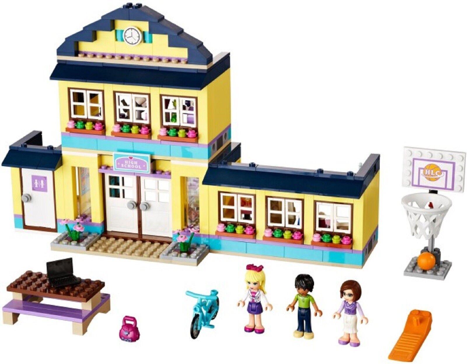 Lego 41005 Friends Heartlake High School Ecole + Notice complet de 2013 CNG17