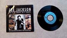 "DISQUE VINYL 45T SP / JOE JACKSON ""(HE'S A) SHAPE IN A DRAPE"" 1988 PROMO"