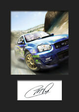 COLIN McRAE #1 Signed Photo A5 Mounted Print - FREE DELIVERY