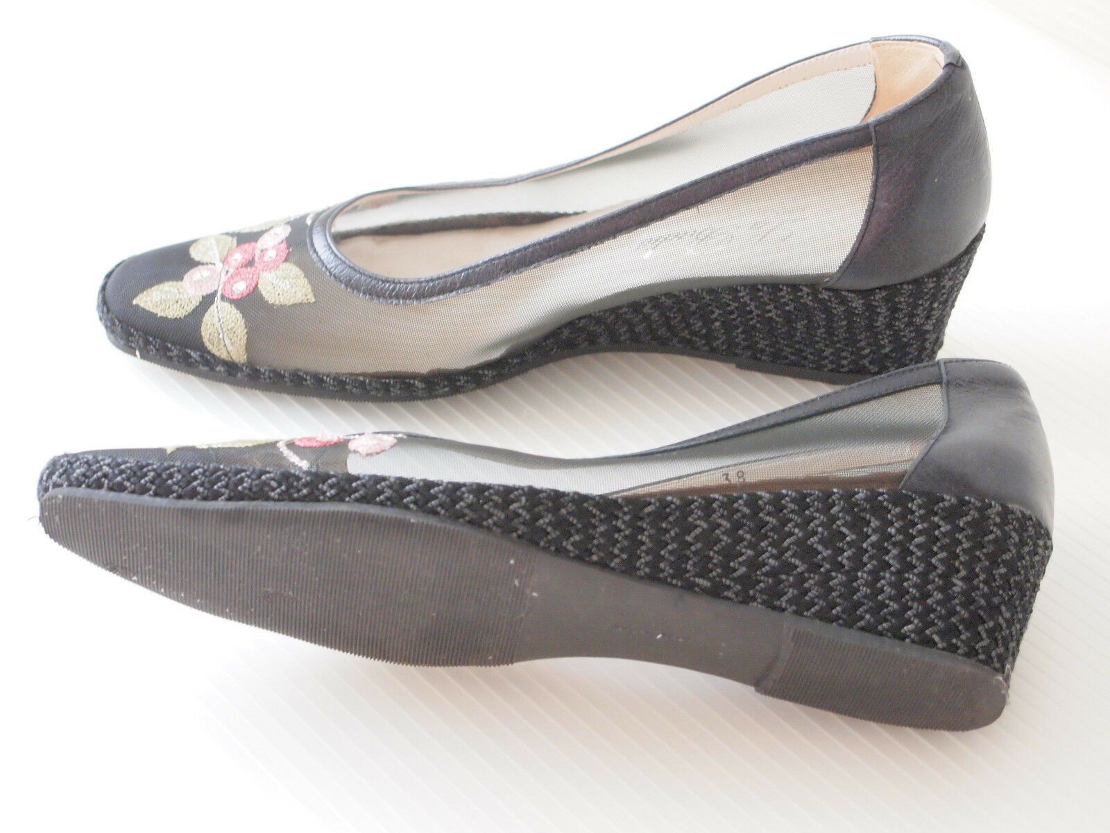 Ladies Shoes La Badia Firenze made in Italy Leather/ Platform Synthetic/ Platform Leather/ Wedge/ 93f5fa