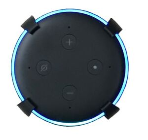 SturdyGrip-Wall-Mount-Ceiling-Mount-for-Amazon-Echo-Dot-3rd-Gen-Black