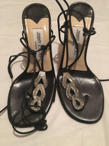 Jimmy Choo Size 36 Rhinestone Shoes