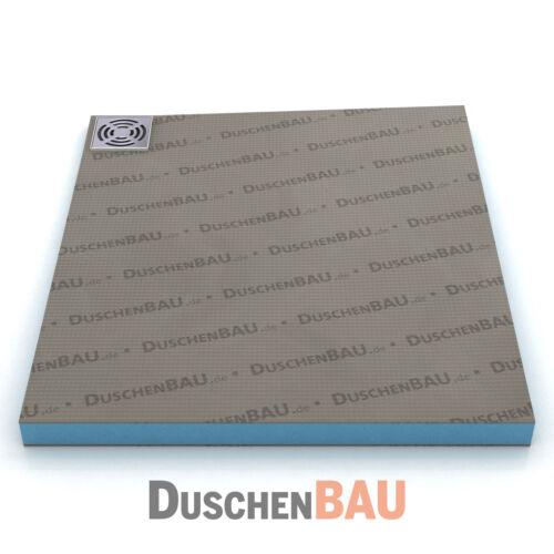 Duschelement Profi mit Eckablauf 90x100 cm befliesbar bodeneben Duschboard