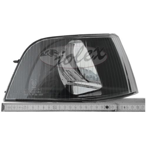 Scheinwerfer mit Blinker Set Satz Paar SCHWARZ KLARGLAS Volvo V40 S40 00-03 NEU