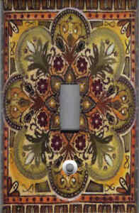 Details about ITALIAN TILE PRINT - TUSCAN KITCHEN DECOR SINGLE LIGHT SWITCH  PLATE