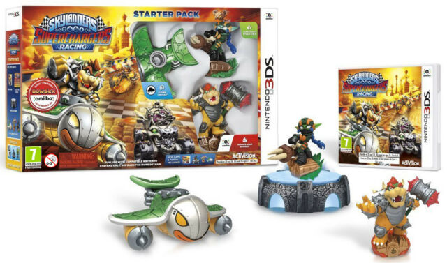 Skylanders SuperChargers Starter Pack 3DS - totalmente in italiano