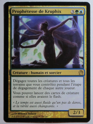 Prophetess of kruphix theros-prophet of kruphix mtg magic francais ex