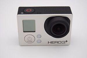 Gopro HERO 3+ Silver Edition Action Camera Camcorder CHDHN-302 818279010855