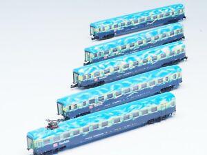 87300-Z-scale-Marklin-DB-AG-034-Touristikzug-034-5-CAR-Passenger-Set-034-Turism-034-Sp-ed