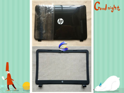 New HP 15-G 15-R 250 255 256 G3 LCD Back Cover /& LCD Front Bezel Glossy