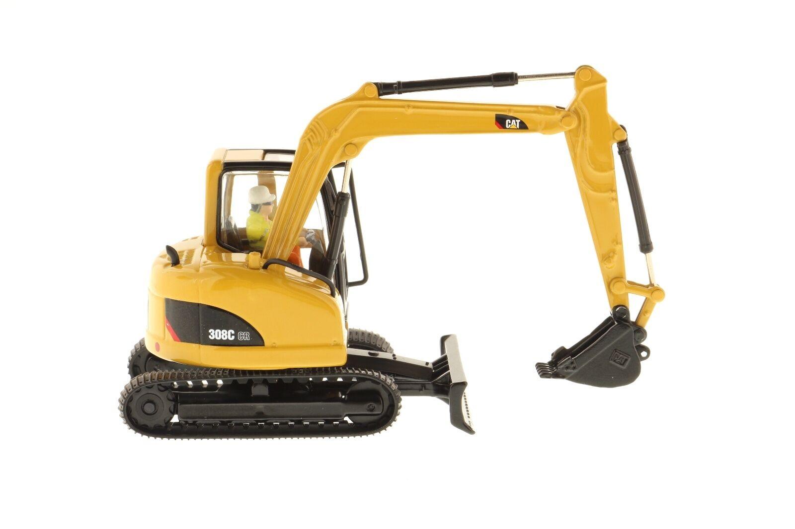 Caterpillar® 1 50 scale Cat 308C CR CR CR Hydraulic Excavator - Diecast Masters 85129 c1a316