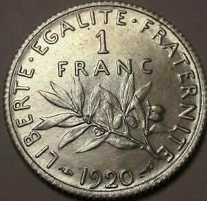 1-Franc-1871-lt-lt-gt-gt-1920-A-amp-K-Ceres-amp-Semeuse-Gadoury-465-amp-467-France-Gre