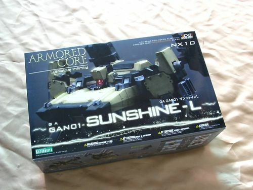 Armored Core NX-10 1 72 GA GAN01-Sunshine-L