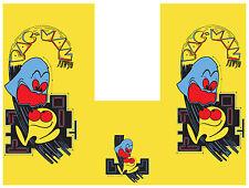 pac man side art and kickplate arcade set (3 pcs.)