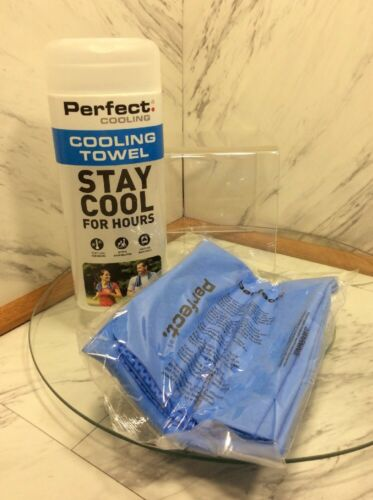 Perfect CoolingCooling TowelStay Cool For HoursBLUE 29x11