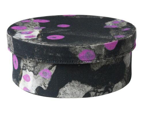 handmade dark gray//purple IKEA ANNANSTANS storage decorative box with lid