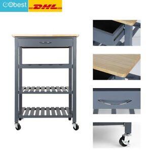 Küchenwagen Servierwagen Rollwagen Beistellwagen Küchentrolley mit ...