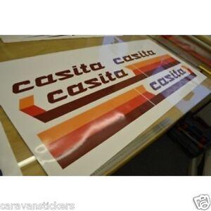 CASITA Caravan Stickers Decals Graphics STYLE SET OF EBay - Graphics for caravanscaravan stickers ebay