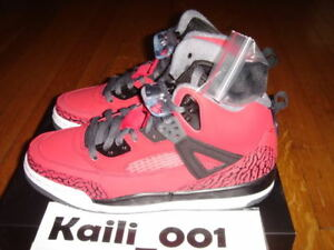 competitive price 763b3 dd18d Image is loading Nike-Air-Jordan-Spizike-GS-Gym-Red-Cement-