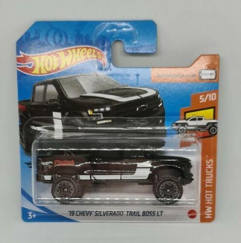 Hot Wheels 19 Chevy Silverado Trail Boss LT Neu OVP 5//10 HW Hot Trucks 2020