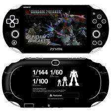 Skin Decal Sticker For PS Vita Slim PCH-2000 Series-POP SKIN Gundam Breaker #02