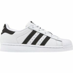 Adidas-Stan-Superstar-C-Bambino-Bambina-Kids-Bianca-Scarpe-Scarpa-Ginnastica