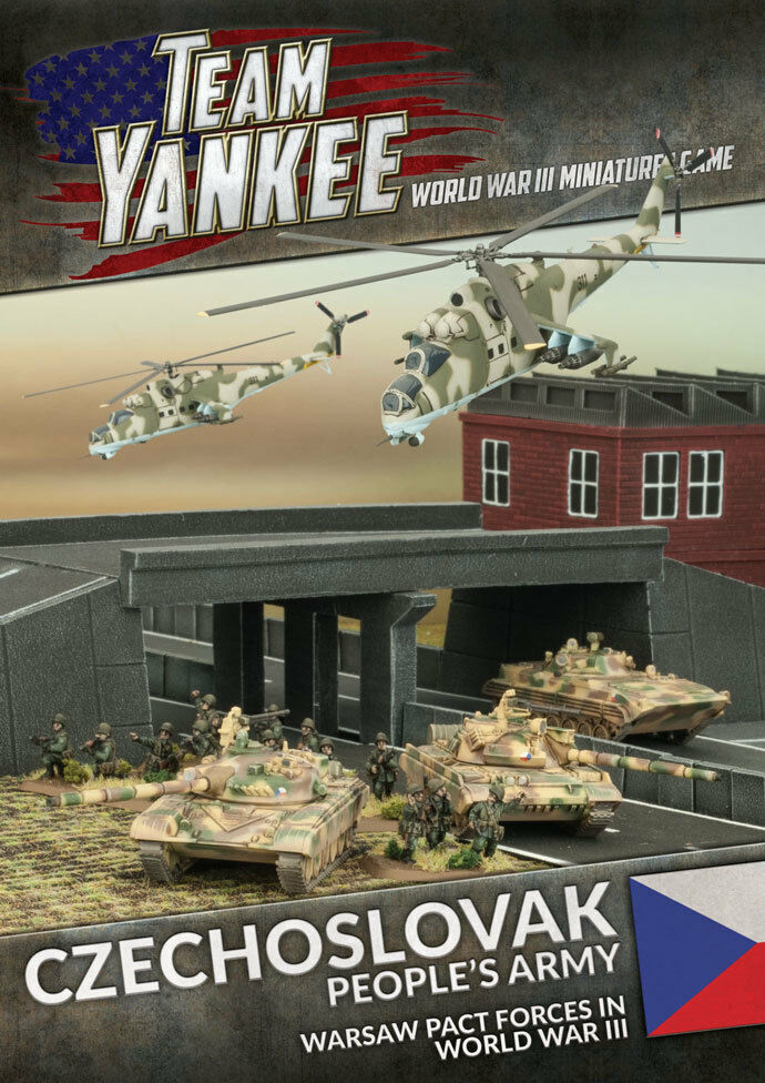 Tchécoslovaque People's Armée - Ty503 - Team Yankee - Envoyé Première Classe