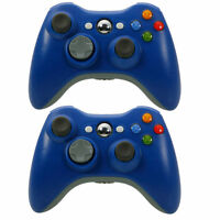 2X Wireless Game Remote Controller for 360 Console +USB Receiver
