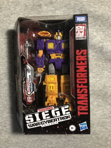 """Transformers Siege War For Cybertron 6/"""" Figure Deluxe Class Impactor IN STOCK!"""