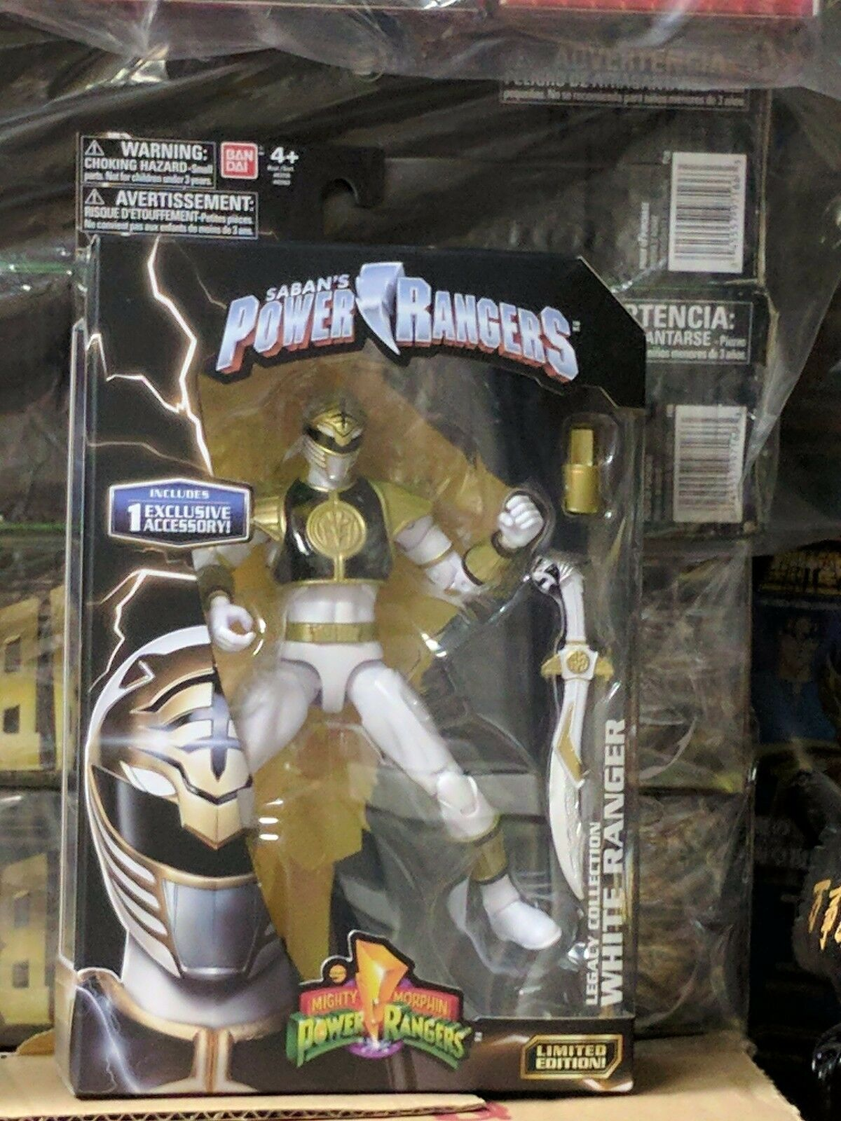 White Ranger Legacy Collection - 6.5  Mighty Mighty Mighty Morphin Power Rangers MISB 7eb62d