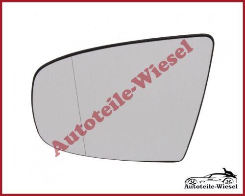für BMW X5 E70 X6 E71 View Max Spiegelglas Links Asphär Chrom Heizb