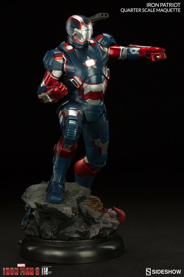 Samlefigurer, Iron Patriot Quarter Scale Maquette