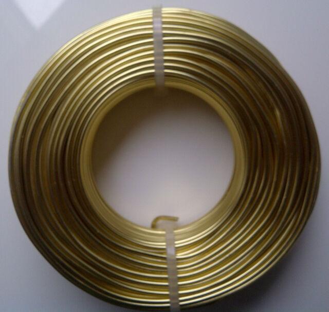 (0,24€/m) Aludraht 2mm rund 12m Biegedraht Basteldraht Schmuckdraht Draht 2,0 mm