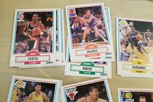 Lot 41 cartes NBA Fleer 1990-91 James Worthy, B. Scott, Tim Hardaway +++ *neuf*