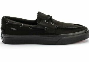 Men's Discounted Del 284 Vans Barco Zapato Black XTq1xqY4w
