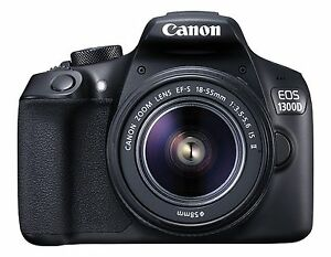 Canon EOS 1300D with 18-55 IS II Lens