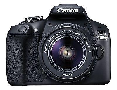 Canon EOS 1300D Kit EF S18-55 IS II DSLR Camera +Original Canon BAG+16gb