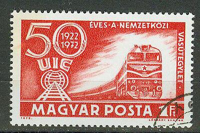 Radient Briefmarken Ungarn 1972 Eisenbahnverband Mi.nr.2803 Gestempelt Koop One Give One