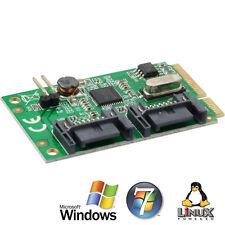 InLine Mini-PCI Express card, 2 x SATA 6 GB / s (SATA 3.0)